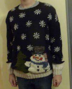 ugly christmas sweter