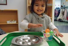 Daycroft Montessori School Fundays. Early Montessori classes for parents and toddlers (18 months to 3 years).