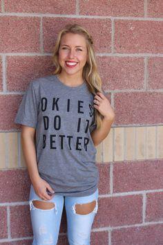 Okies do it better unisex crew neck t-shirt | Lush Fashion Lounge