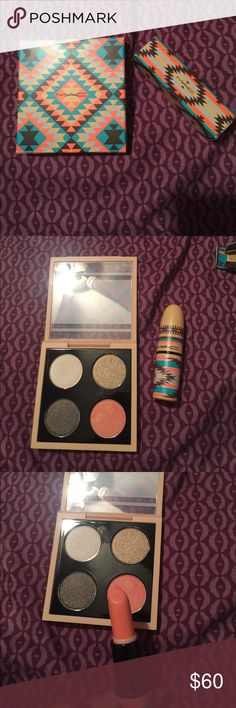Mac tribe collection. 💄 TV $75 Like new. Only swatched. MAC Cosmetics Makeup Eyeshadow