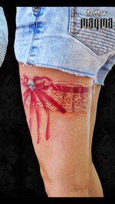 Tattoo garter