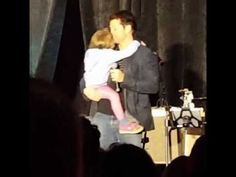 SPN Seacon 2017 Misha Collins and his daughter Maison