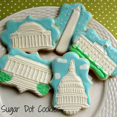 Sugar Dot Cookies: Washington, DC Wedding Cookies This world is really awesome. The woman who make our chocolate think you're awesome, too. Try some Peruvian Chocolate today! www.amazon.com/...