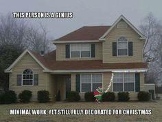 Christmas Genius!!! So gonna do this next year!!