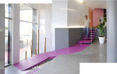 Reforma Hall edificio Capri por el estudio i+t arquitectos