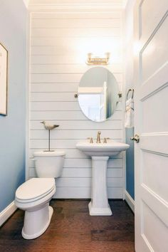 Top 60 Best Half Bath Ideas - Unique Bathroom Designs - - From modern to rustic, discover the top 60 best half bath ideas. Explore unique bathroom designs that are as accessible as they are discreet for guests. Minimalist Small Bathrooms, Small Half Bathrooms, Small Half Baths, Small Space Bathroom, Bathroom Design Small, Amazing Bathrooms, Tiny Half Bath, Very Small Bathroom, Minimal Bathroom