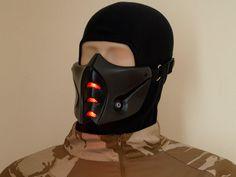 Mortal Kombat SubZero Mask v.2 MK9 Grey with by HiddenAssassins, £52.99
