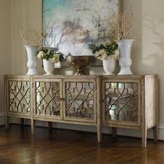 Hooker Furniture Mirrored Server