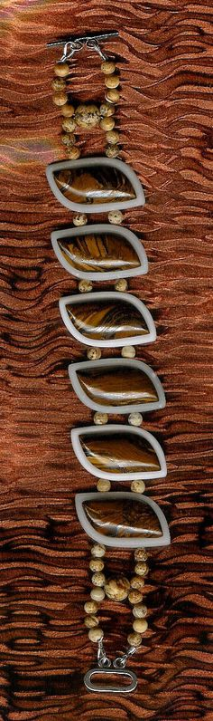 Bracelet  Tiger's Eye Jade African Queen Picture by ChicStatements, $50.00