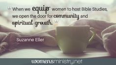 Do women seem too busy to commit? Consider opening the door to a new style of Bible studies