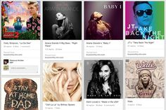Music Collections, via the Official Pinterest Blog