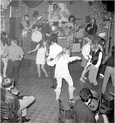 The Mothers of Invention at the Whisky A Go Go, 1966.