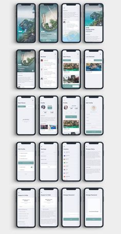 Gezi Travel App UI Kit — Figma Resources on UI8 Ios App Design, Mobile App Design, Ui Ux Design, Application Ui Design, Games Design, Android App Design, Iphone App Design, User Interface Design, Best Ui Design