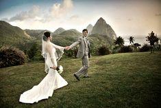 Our secret Saint Lucian Wedding, St. All Inclusive Destination Weddings, Best Wedding Destinations, Best Wedding Venues, All Inclusive Resorts, Perfect Weddings Abroad, Wedding Abroad, St Lucian, Saint Lucia, Romantic Escapes