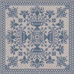Winter Garden - Cross Stitch Pattern - Instant Download PDF Booklet via Etsy