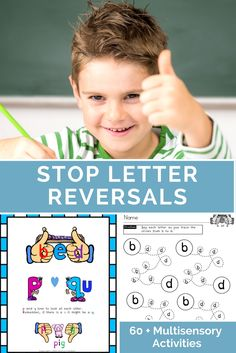 The Reverse It Resource Binder includes over 60 visual discrimination activities for the letters b,d,p,q, and g. Early readers and students with dyslexia often reverse or confuse letters. These exercises were designed to strengthen skills in visual memory, tracking, spatial skills, directionality, scanning, visual discrimination, and details. By using visual cues and multi-sensory activities, students can improve their ability to recognize these commonly confused letters.