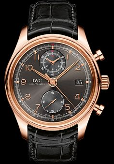 IWC Portugieser Chronograph Classic 18K Rose Gold Automatic