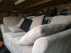 Beige three seater sofa and armchair Three Seater Sofa, Armchair, Lounge, Couch, Beige, Furniture, Ideas, Home Decor, Chair