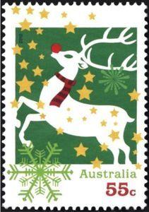 Sello: Reindeer (Australia) (Christmas 2012) Mi:AU 3847,Sn:AU 3807,Yt:AU 3701,Sg:AU 3886