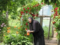 Eastern Orthodox nun.