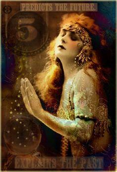 Madame De Cassins by Bohemiart # predicts the future # gypsy.