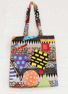 Jon burgerman. See more great tote bag designs here: http://www.creativebloq.com/design/tote-bags-912700