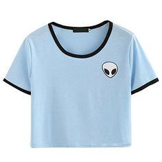 ROPALIA Damen Short Sleeve Tee lose Print Bluse Lassige C... https://www.amazon.de/dp/B01MRJM2LX/ref=cm_sw_r_pi_dp_x_uEfNybHRD8R9D