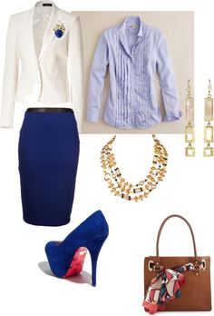 Career Attire, created by robin-griehs-donoho on Polyvore