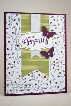 Did You Stamp Today?: Simple Sympathy - Stampin' Up! Rose Wonder