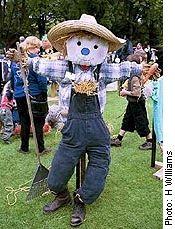 Kids Scarecrow DIY project