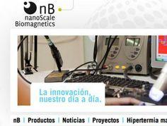 Diseño Garabato Estudios - nB nanoScale Biomagnetics http://www.nbnanoscale.com/ #web