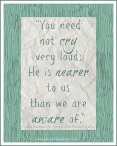 Paraphrase of St. Augustine