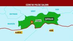 Τουλάχιστον 11 αστυνομικοί νεκροί από την ισχυρή έκρηξη στην Τουρκία (ΒΙΝΤΕΟ) Batman, Map, Location Map, Maps