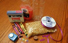 DIY Sensory Bottles for Little Ones