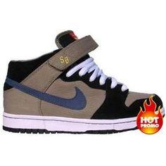 Nike Dunk Mid Premium SB Justin Brock (Khaki Medium Denim)