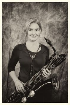 Barbara on tenor sax, bari sax and flute.