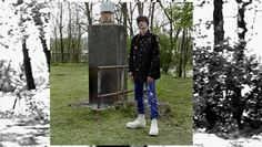 Willy Vanderperre shoots the Raf Simons x Sterling Ruby AW14 campaign video as the pair announce the launch of their online pop-up: http://www.dazeddigital.com/fashion/article/20854/1/check-out-the-raf-simons-x-sterling-ruby-video-campaign