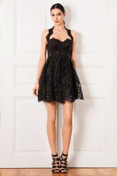 Mini Siyah Gece Elbisesi