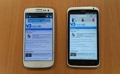 Samsung Galaxy S3 and HTC M7- check out its comparison.
