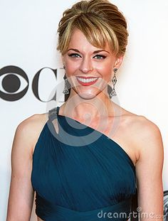 © Laurence Agron   Dreamstime.com- Stunningly beautiful actress Ashley Spencer arrives on the red carpet for the 66th Annual Tony Awards at the Beacon Theatre in New York City on June 10, 2012.