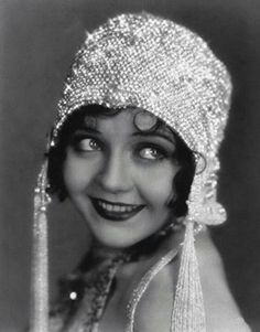 An example of 1920's hat that went along with the flapper dresses and extraordinary embroidery.
