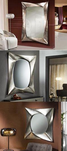 Espejos modernos de cristal lia decoraci n beltr n tu for Decoracion beltran