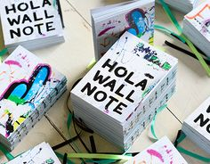 """Check out new work on my @Behance portfolio: """"Hola Wall Note"""" http://on.be.net/1dg3rOs"""