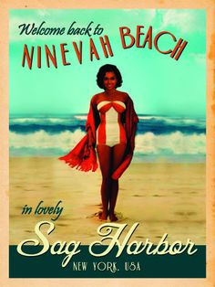 1865Company — Sag Harbor Vintage Resort Canvas Stunning Women, Beautiful, Sag Harbor, Keepsakes, Bathing Suits, Surfing, Wonder Woman, New York, Superhero