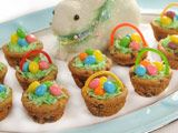Edible Chocolate Chip Easter Baskets