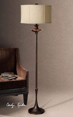 N06E - Lahela Copper Bronze Floor Lamp