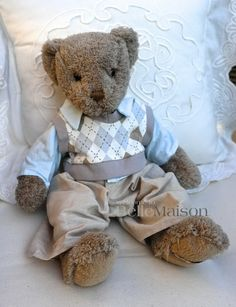 Miś Pontus szary - BelleMaison.pl Teddy Bears, Shabby Chic, Toys, Animals, Home Decor, Activity Toys, Animales, Decoration Home, Animaux