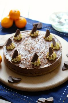 A deliciously smooth and rich cheesecake, packed with chocolate orange flavour. This is a simple no bake recipe you'll be wanting to make again and again!