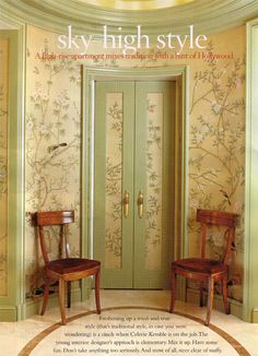 Gracie De Gournay Zuber And All Things Scenic On