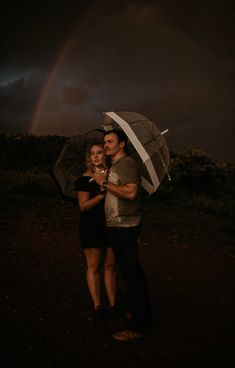 This couple shoot was magic like in full on double rainbows and golden light streaming through the clouds. Pretoria, sometimes you amaze me. Cute Umbrellas, Rainy Season, Pretoria, Couple Shoot, Travel Photographer, Couple Photography, Cowboy Hats, Africa, Take That